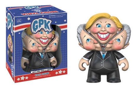 2016 Funko Garbage Pail Kids GPK Hillary Clinton Billary Funko Pop Vote
