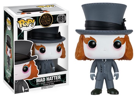 2016 Funko Pop Alice Through the Looking Glass Vinyl Figures 181 Mad Hatter