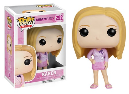2016 Funko Pop Mean Girls Vinyl Figures 292 Karen