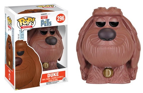 2016 Funko Pop Secret Life of Pets Vinyl Figures Duke