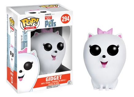 2016 Funko Pop Secret Life of Pets Vinyl Figures Gidget