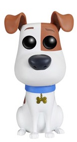2016 Funko Pop Secret Life of Pets Vinyl Figures Max 1