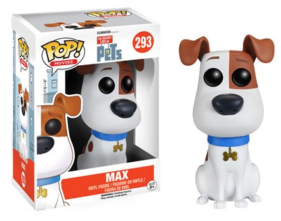 2016 Funko Pop Secret Life of Pets Vinyl Figures Max