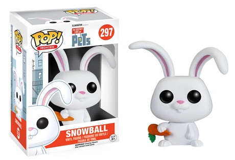 2016 Funko Pop Secret Life of Pets Vinyl Figures Snowball