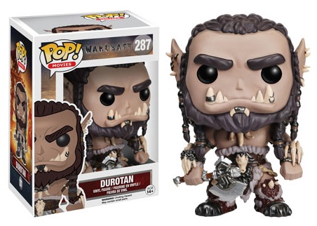 2016 Funko Pop Warcraft Movie Vinyl Figures Durotan