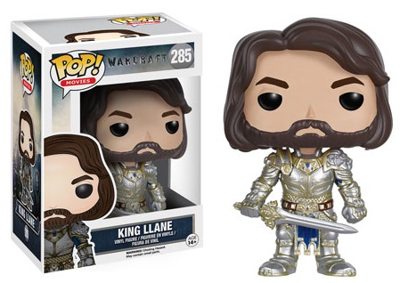 2016 Funko Pop Warcraft Movie Vinyl Figures King Llane