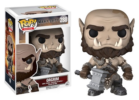 2016 Funko Pop Warcraft Movie Vinyl Figures Orgrim