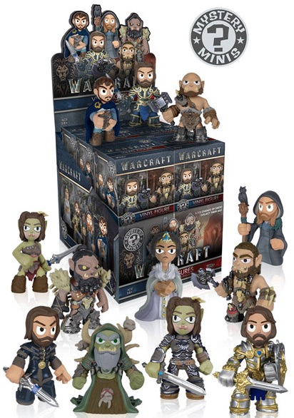 2016 Funko Warcraft Movie Mystery Minis box