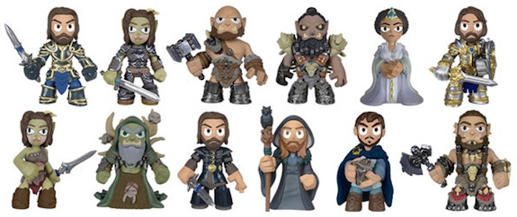 2016 Funko Warcraft Movie Mystery Minis figures