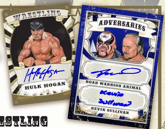 2016 Leaf Signature Series Wrestling main