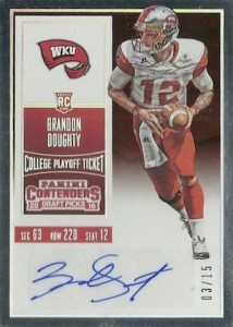 2016 Panini Contenders Draft Picks Football Variations Checklist & Gallery 52
