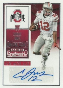 2016 Panini Contenders Draft Picks Football Variations Checklist & Gallery 17
