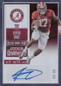 2016 Panini Contenders Draft Picks Football Variations Checklist & Gallery 58