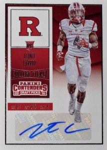 2016 Panini Contenders Draft Picks Football Variations Checklist & Gallery 48