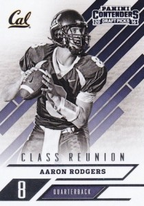 2016 Panini Contenders Draft Picks Football Class Reunion Aaron Rodgers