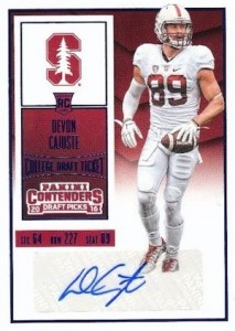2016 Panini Contenders Draft Picks Football Variations Checklist & Gallery 65