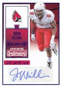 2016 Panini Contenders Draft Picks Football Variations Checklist & Gallery 37