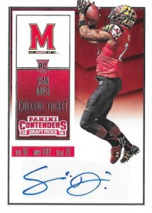2016 Panini Contenders Draft Picks Football College Ticket Autograph