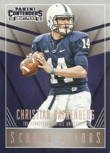 2016 Panini Contenders Draft Picks Football School Colors