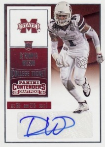 2016 Panini Contenders Draft Picks Football Variations Checklist & Gallery 35