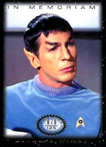 2016 Rittenhouse Star Trek The Original Series 50th Anniversary Trading Cards 31