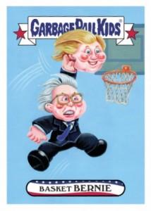 2016 Topps Garbage Pail Kids Super Tuesday Bernie Sanders