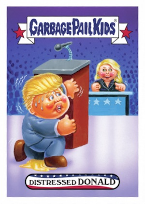 2016 Topps Garbage Pail Kids Super Tuesday Donald Trump