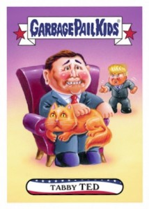 2016 Topps Garbage Pail Kids Presidential Trading Cards - Losers Update 57