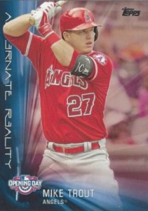 2016 Topps Opening Day Baseball Alternate Reality Trout