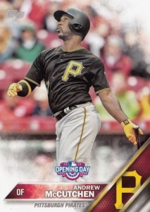2016 Topps Opening Day Baseball Base Andrew McCutchen