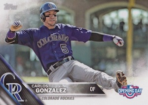 2016 Topps Opening Day Baseball Variations Checklist and Gallery 55