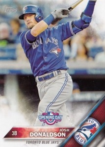 2016 Topps Opening Day Baseball Variations Checklist and Gallery 27