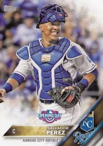 2016 Topps Opening Day Baseball Base Salvador Perez