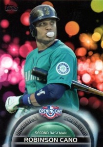 2016 Topps Opening Day Baseball Bubble Trouble