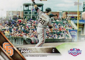 2016 Topps Opening Day Baseball Variations Checklist and Gallery 56