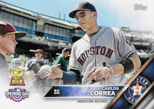 2016 Topps Opening Day Baseball Variations Checklist and Gallery 32