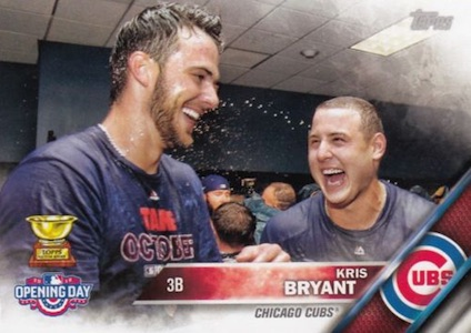 2016 Topps Opening Day Baseball Variations Checklist and Gallery 16