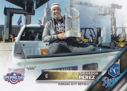 2016 Topps Opening Day Baseball Variations Checklist and Gallery 54