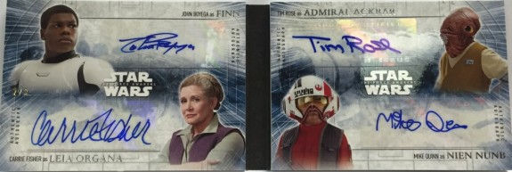 2016 Topps Star Wars: The Force Awakens Series 2 Trading Cards 34