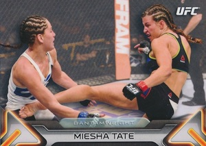 2016 Topps UFC Knockout Base Miesha Tate
