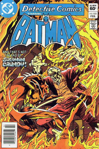 DC Detective Comics 523 Batman