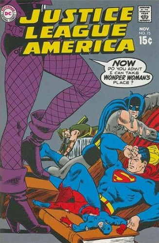 DC Justice League of America 75