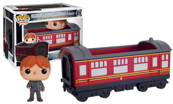 Funko Pop Harry Potter Rides Hogwarts Express Carriage Ron Weasley