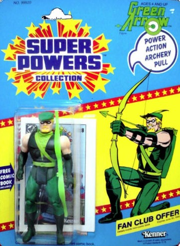 Kenner DC Comics Green Arrow Action Figure