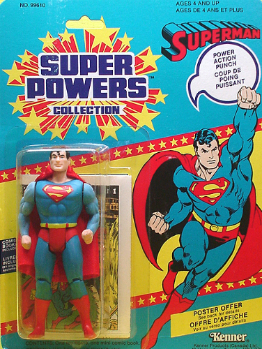 Kenner Super Powers Superman