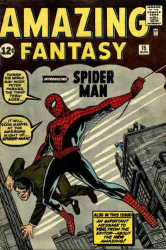 Marvel Amazing Fantasy 15 Spider-Man