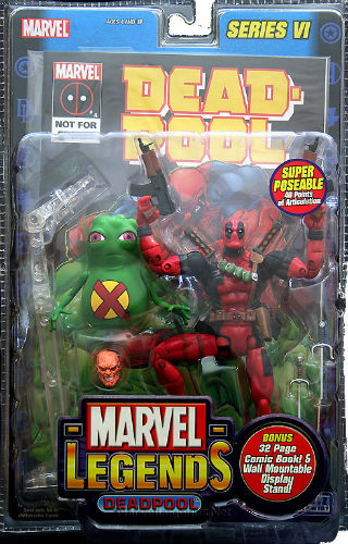 Marvel Legends Action Figure Deadpool