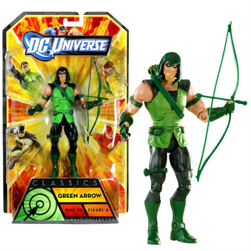 Mattel DC Comics Green Arrow Action Figure