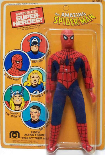Mego Worlds Greatest Super Heroes Spider Man