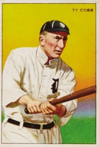 1912 T227 Series of Champions Ty Cobb